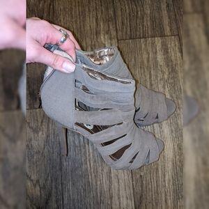 BCBG Taupe/ Grey High Heels